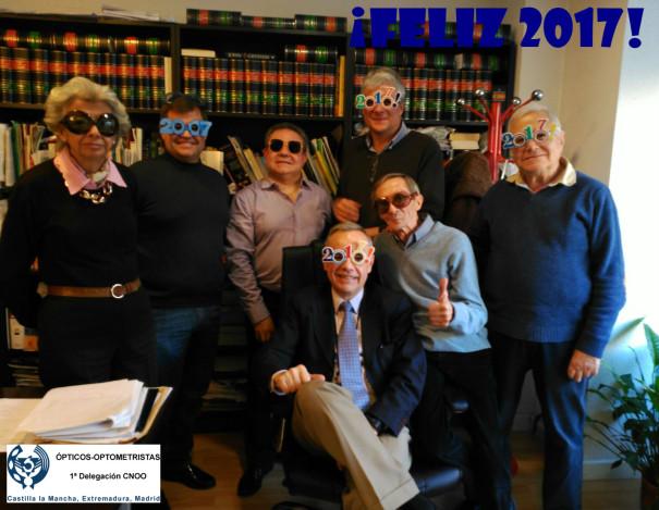 ¡Feliz 2107 desde la Primera Delegación CNOO!