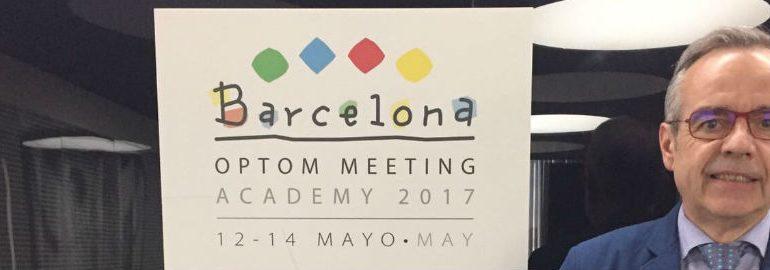 La Primera Delegación del CNOO en Optom Meeting Barcelona 2017
