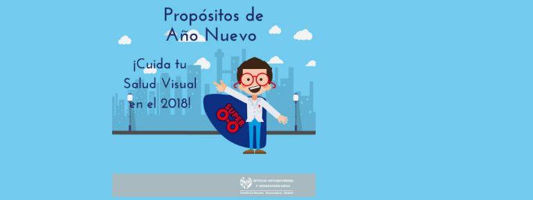 Propósitos de Salud Visual para el nuevo año 2018