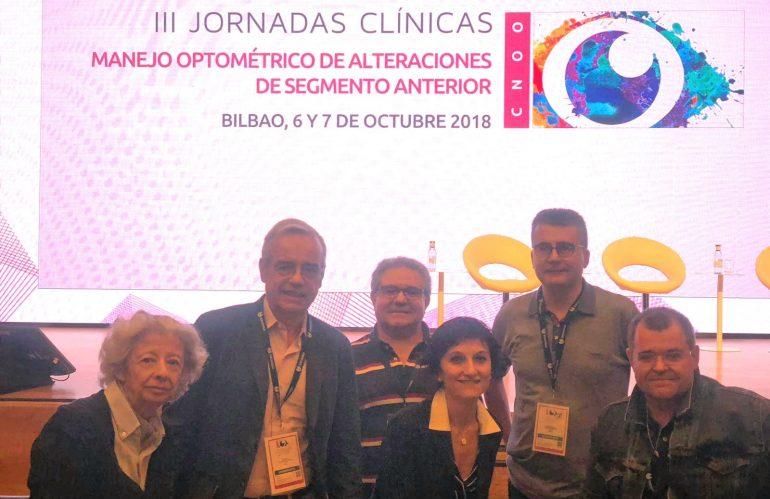 La Primera Delegación en las III Jornadas Clínicas en Bilbao