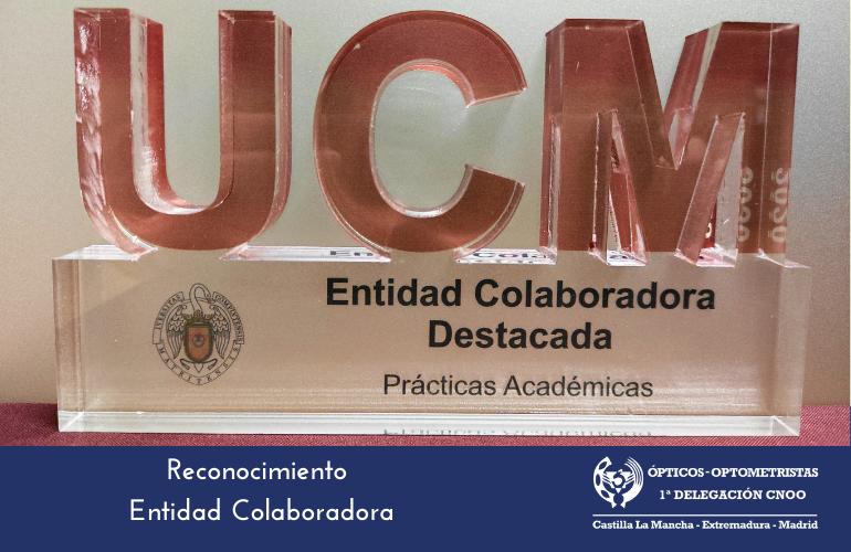 La Primera Delegación Regional del CNOO reconocida como entidad colaboradora por la UCM