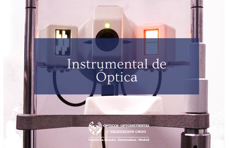 Instrumental de Óptica: el Queratómetro
