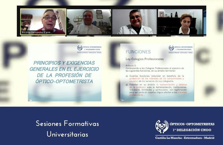 Sesiones Formativas Online para Alumnos Universitarios 2021