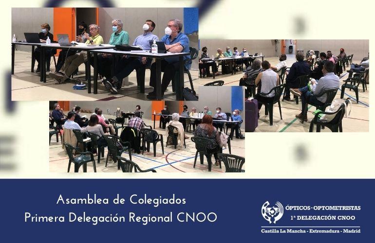 Reunión de la Asamblea de la Primera Delegación Regional del CNOO