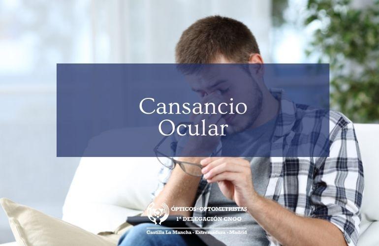 Síntomas de cansancio ocular y de síndrome visual informático