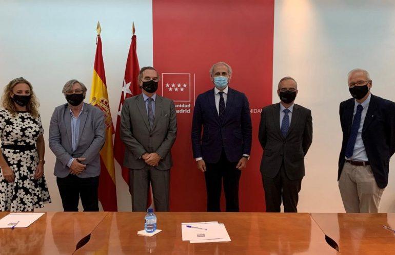 Reunión de la UICM con el Consejero de Sanidad de Madrid
